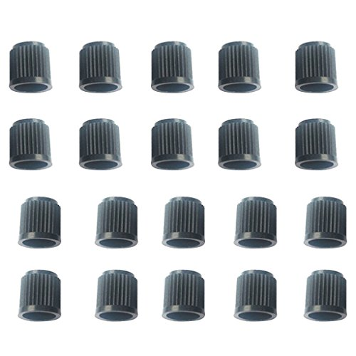 Dolity 20 Pieces Car Wheels Tire Valve Stems Cap Lid Air Dust-proof Cover from Dolity
