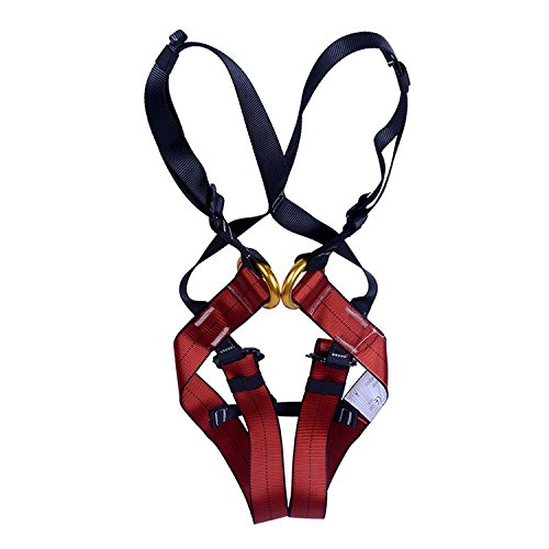 Dometool Climbing Harness, Children's Full Body Harness for Amusement Park & Rock Climbing Expedition,Fit 3-10 Years Old from Dometool