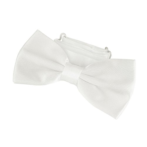 DonDon classy bow tie pre tied and adjustable ivory from DonDon