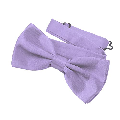 DonDon classy bow tie pre tied and adjustable lilac from DonDon