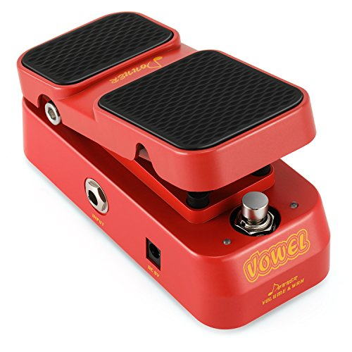 Donner Vowel Mini Active Wah Volume Effect Guitar Pedal 2 in 1 from Donner