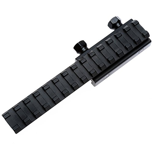 Dophee 145mm Long Extended Flat Top Scope Mount Base Riser Weaver Picatinny Rail 20mm from Dophee