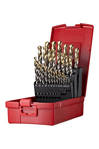 Dormer Jobber Drill Set, Set of 29 from Dormer Pramet