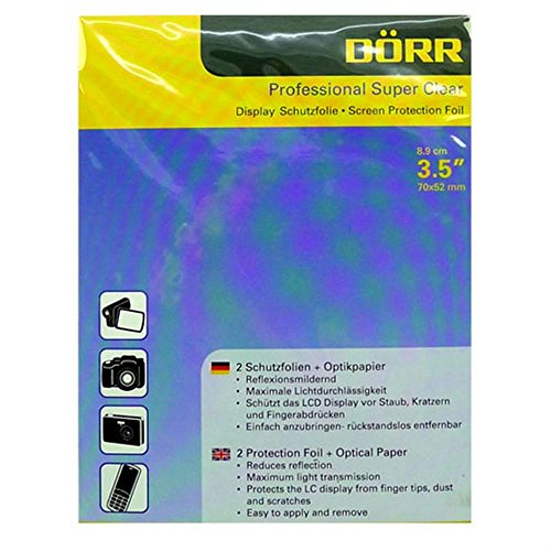 Dorr 3.5 inch Professional Super Clear Display Protector Foil from Dorr