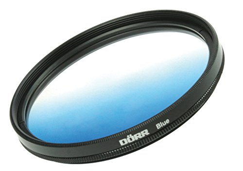 Dorr 55mm Blue Graduated Color Filter from Dorr