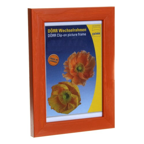 Dorr Hartmut 12x8 Wooden Photo Frame - Orange from Dorr