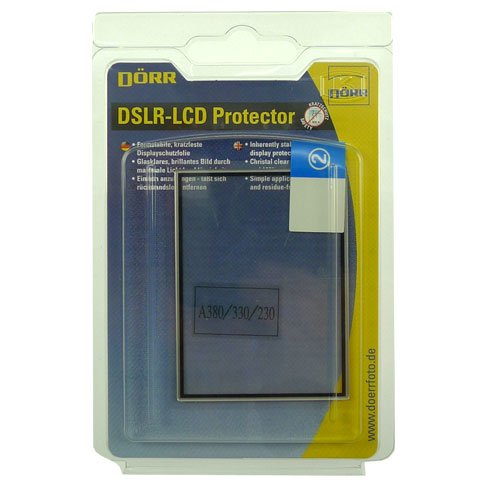 Dorr LCD Protector for Sony Alpha 380/330/230 from Dorr