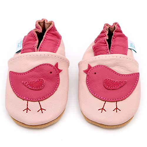 68a0896eb5d6 Dotty Fish Soft Leather Baby Shoes with Non Slip Suede Soles. Toddler Shoes.  Pretty