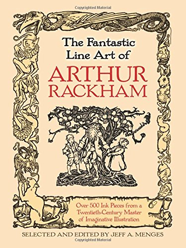 Fantastic Line Art of Arthur Rackham from Dover Publications Inc.