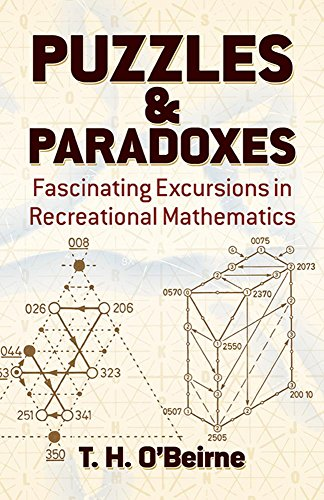 Puzzles and Paradoxes: Fascinating Excursions in Recreational Mathematics (Dover Needlework) from Dover Publications Inc.