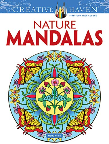 Nature Mandalas (Dover Design Coloring Books) from Dover