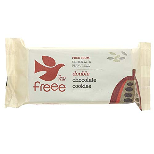 (Pack Of 8) - Double Chocolate Cookies | DOVES FARM from Doves Farm