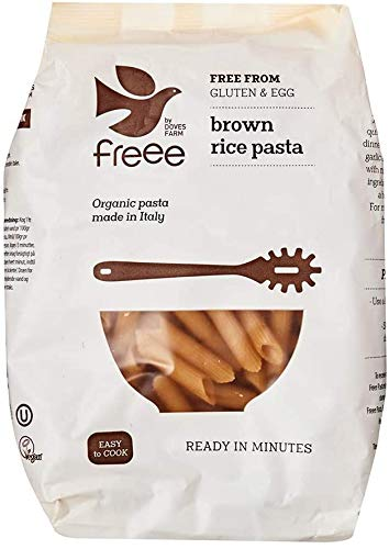 Doves Farm Organic Brown Rice Penne 500 g (Pack of 6) from Doves Farm