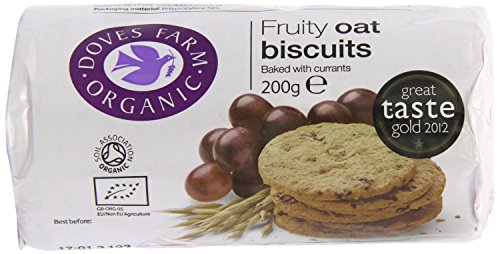 Doves Farm Organic Digestives Fruity Oat 200g from Doves Farm