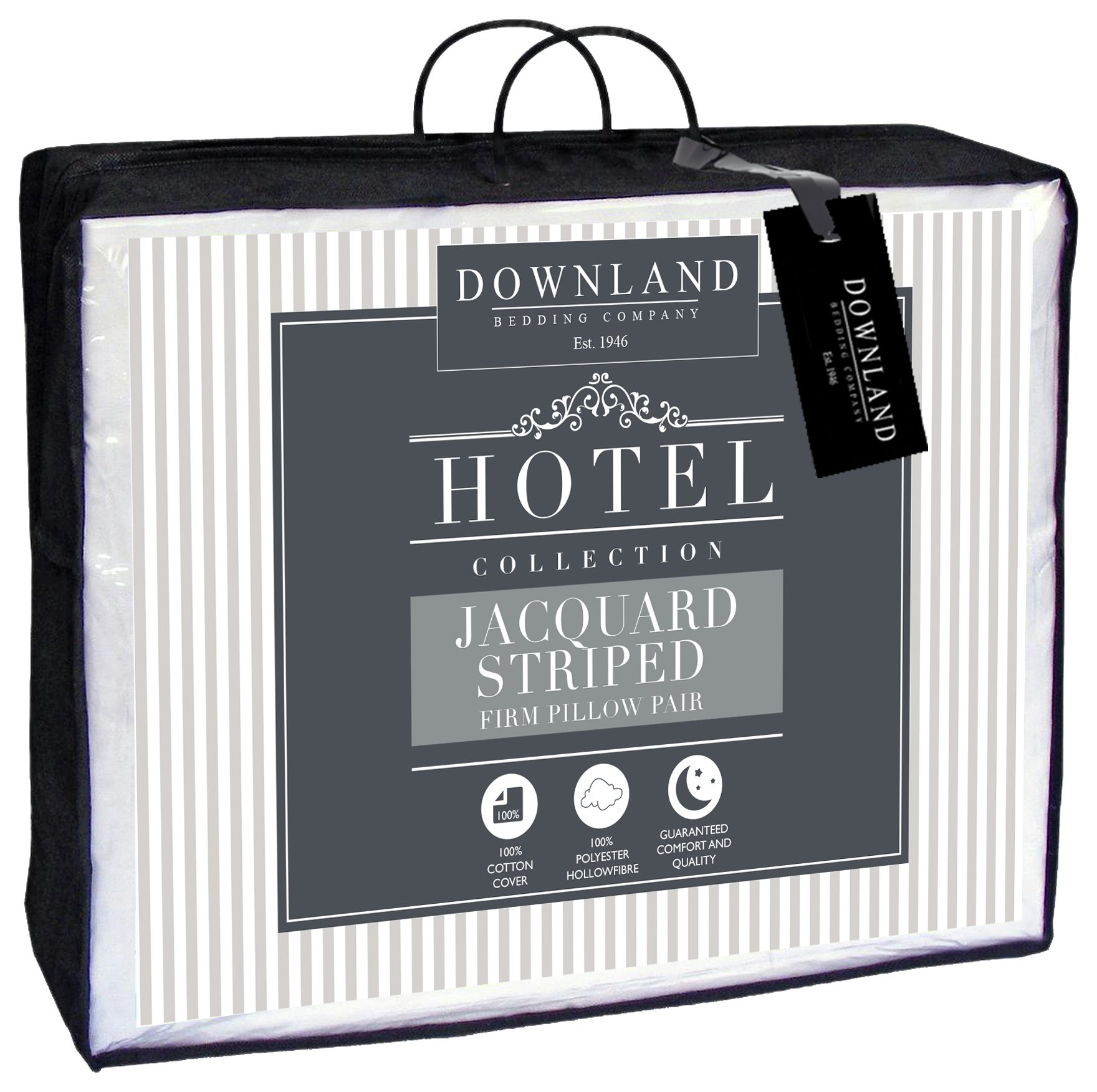 Downland - Cotton Striped Pillow from Downland