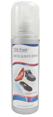 Dr Foot Antibacterial Insole Spray 100ml from Dr Foot