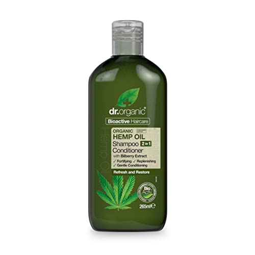 DR ORGANIC Hemp 2 in 1 Shampoo and Conditioner, 0.3039 kg,DR00493 from DR ORGANIC