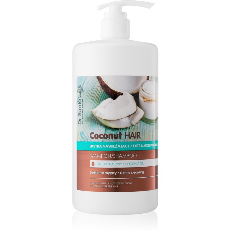 Dr. Santé Coconut Shampoo with Coconut Oil For Dry And Brittle Hair 1000 ml from Dr. Santé