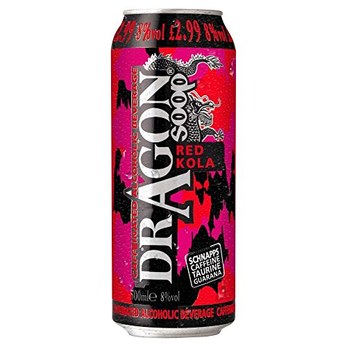 Dragon Soop Red Kola 500ml (case of 8) from Dragon Soop