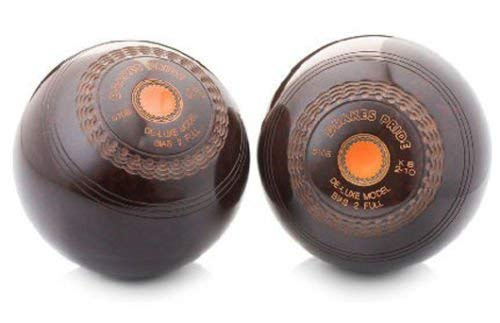 DRAKES PRIDE BROWN DELUXE CROWN GREEN BOWLS** (2-08) from Drakes Pride