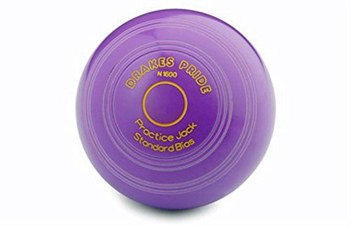 Drakes Pride CROWN GREEN PRACTICE JACKS AVAILABLE IN VARIOUS COLOURS** (PURPLE) from Drakes Pride