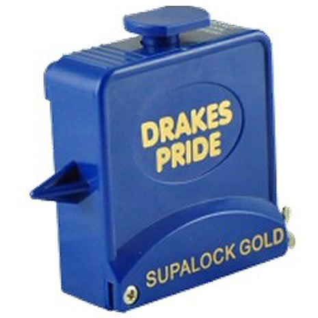 Drakes Pride Supalock Gold bowls measure - blue from Drakes Pride