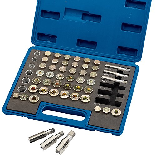 Draper 36631 Expert Oil Sump Plug Repair Kit, 120 Pieces from Draper