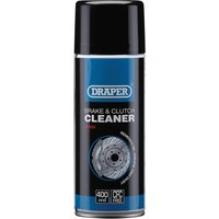 Draper Brake and Clutch Cleaner Spray 400ml from Draper