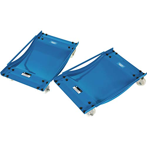 Draper WD2 Expert Wheel Dollies, Blue from Draper