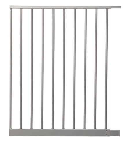 Dreambaby 56cm Wide Extension Gate for Newborn (Silver) from Dreambaby