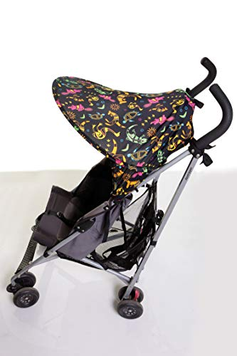 Dreambaby Buddy Extend Stroller Shade Only (Medium, Shade with Animal Print) from Dreambaby