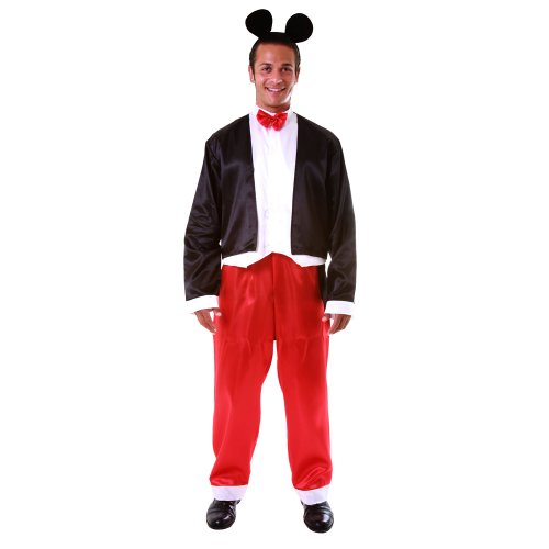 Dress up America Deluxe Adult Mr Mouse Costume Set (L) from Dress Up America