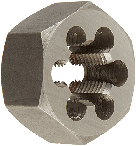 Drill America DWT Series Qualtech Carbon Steel Hex Threading Die, M30 x 1.5 Size (Pack of 1) from Drill America