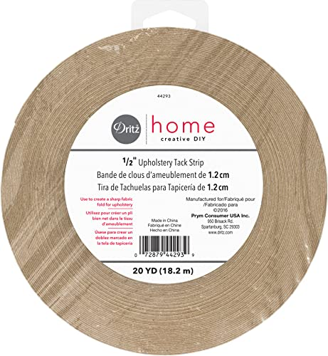 Dritz Upholstery Tack Strip 1/2 x 20yd-Natural, Brown, Each from Dritz