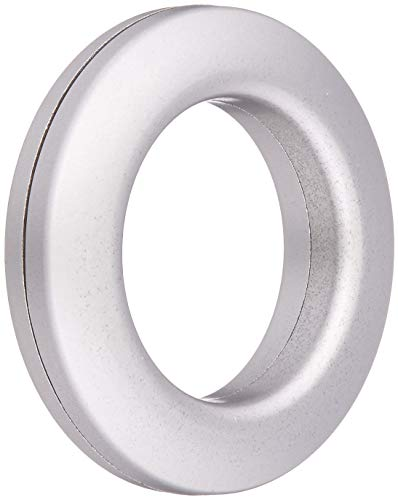 Dritz 1-Inch Inner Diameter Plastic Curtain Grommets, Pack of 8, Brushed Silver from Dritz