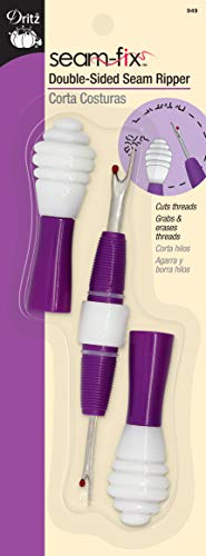 Dritz Fix Seam Ripper, Double-Sided, Purple from Dritz