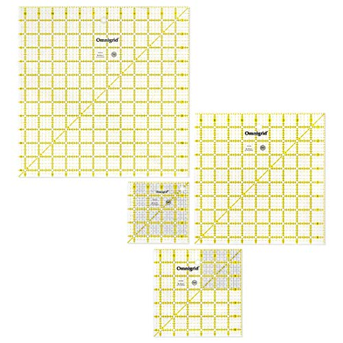 Dritz Omnigrid Ruler Set-Value Pack 1 (pack of 4) from Dritz