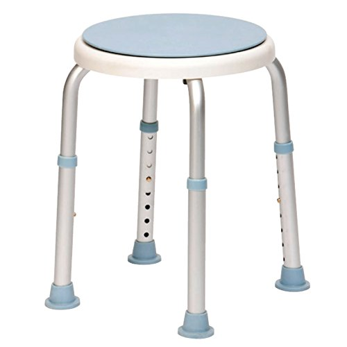 Drive DeVilbiss Healthcare Rotating Rounded Bath / Shower Stool with Swivel Seat from Drive DeVilbiss Healthcare