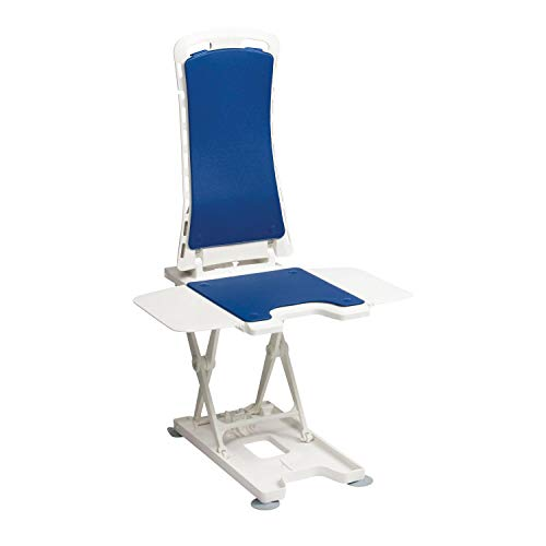 Drive DeVilbiss Healthcare Bellavita Lightweight Reclining Bath Lift with Blue Covers from Drive DeVilbiss Healthcare