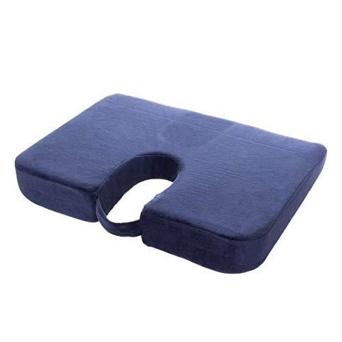 Drive Coccyx Cushion with Removable Machine Washable Cover from Drive DeVilbiss Healthcare