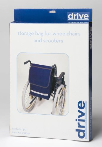 Drive DeVilbiss Healthcare Mobility Electric / Manual Wheelchair and Powerchair/Scooter Seat Bag in Navy from Drive DeVilbiss Healthcare