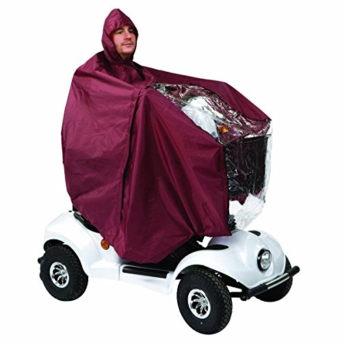 Drive DeVilbiss Healthcare Fully Showerproof Scooter Cape in Blue with Neckline Zip from Drive DeVilbiss Healthcare