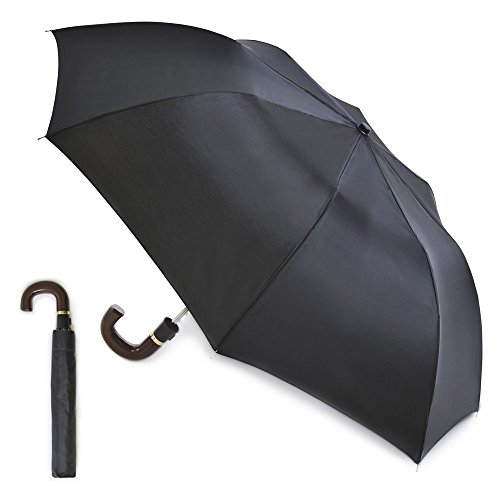 Jegs UU98 - 21&Quot; Mens Automatic Umbrella in Black from Drizzles