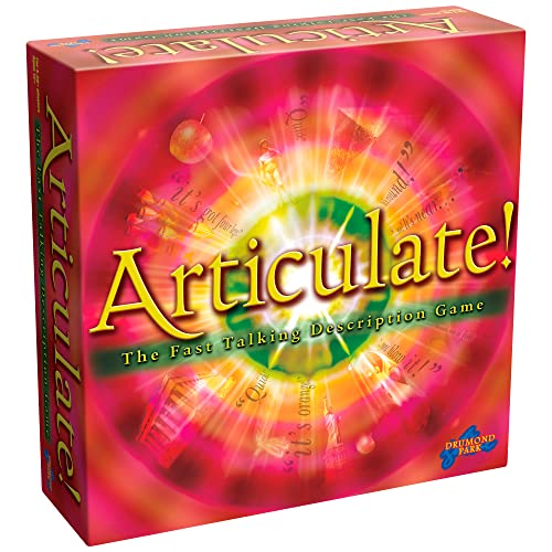 Drumond Park Articulate Family Board Game - The Fast Talking Description Game | Family Games For Adults And Kids Suitable From 12+ Years from Drumond Park