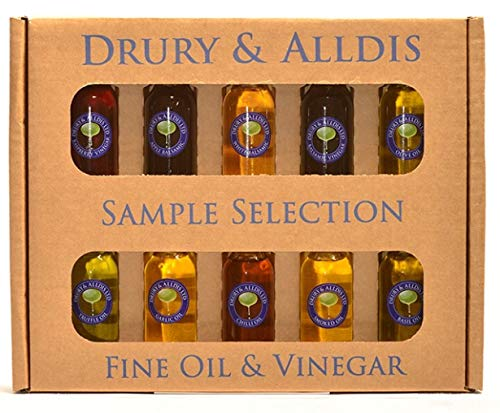 The Sample Selection of Fine Oils and Vinegar from Drury and Alldis