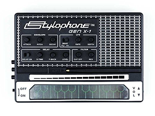 STYLOPHONE GEN X-1 Portable Analogue Synth with Built-in Speaker from Stylophone
