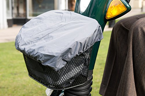Ducksback waterproof bag / liner and cover for a Mobility Scooter Front Basket . Practical for carrying and keeping dry your shopping and other items from Ducksback