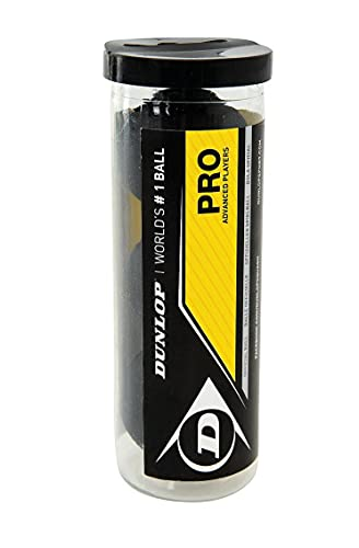 Dunlop PRO Squash Balls - Tube of 3 from Dunlop