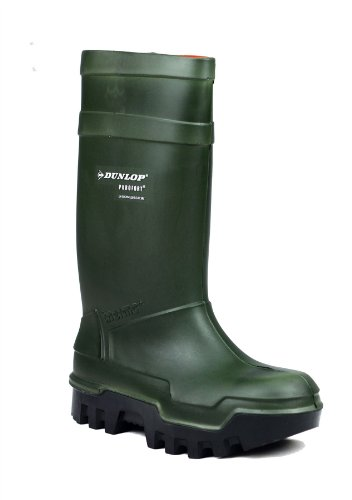 Dunlop Purofort Plus Full Safety Welly Wellies Wellington Boots Yellow 5-12