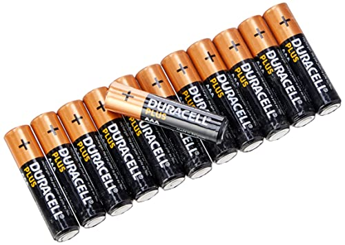 Duracell Plus Power Type AAA Alkaline Batteries, Pack of 12 from Duracell